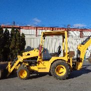 Terramite T9 4x4 Mini Backhoe Loader - Diesel
