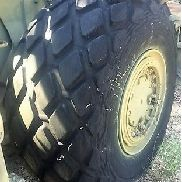 "26.5-25 Goodyear All Weather Tire 26 ply 1 8/32"" Tread Good Used"