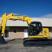 2003 KOBELCO SK135SRLC EXCAVATOR SK 135 ZERO TAIL SWING Z OFFET BOOM OPTION