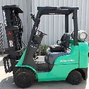 Mitsubishi Model FGC25N (2011) 5000lbs Capacity Great LPG Cushion Tire Forklift!