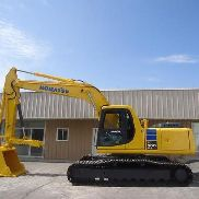 KOMATSU PC200 LC-6 EXCAVATOR HYDRAULIC THUMB AIR CONDITIONING , NICE MACHINE