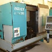 V200 INDEX CNC VERTICAL TURNING LATHE - #22880