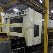 MH100C MITSUBISHI 4-AXIS TWIN PALLET CNC HORIZONTAL MACHINING CENTER - #26998