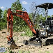 2011 KUBOTA KX41VR1T4 Excavator, with Open Cab, and Standard Blade.