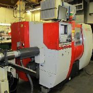 "USED EMCO MAIER 365MC CNC LATHE 1999 Live Tooling Barfeed Parts Catcher 1.6"" Bar"