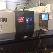 2015 Haas ST-30 TM C-Axis Milling Parts Catcher Tailstock Conveyor 727Hrs