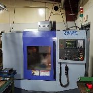 2005 SHARP SV-2412 CNC Mill 8000 RPM 10 Tools Cat 40 FANUC 0i