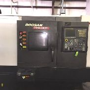 "USED DOOSAN PUMA 2600Y CNC LATHE 2012 Y-Axis 3"" Bar 10"" Chuck 30"" Length Tail"