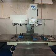 "USED MILLTRONICS RH-33 CNC VERTICAL MILL 2014 78.33.28"" Cat 40 24 Tools 8000 RPM"