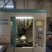 "USED BROTHER TC-22A CNC DRILL/TAP CENTER 1999 20.16.16"" 26 Tools 12000 RPM VMC"