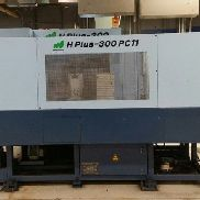 USED MATSUURA H.PLUS-300 PC11 CNC HORIZONTAL MILL 2002 11 Pallets 240 Tools BT40