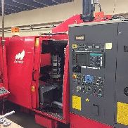 USED MATSUURA MAM-500 PC11 CNC HORIZONTAL MILL 1995 TSC 11 Pallet 210 Tools BT40