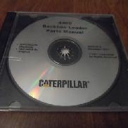 OEM Caterpillar 430D Backhoe Loader Parts Catalog Manual CD Disc # SERP 3511