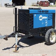 2012 Miller Big Blue 300 Pro Diesel Towable Welder Generator Tig Wire Stick