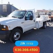 2006 Ford F-350 12ft welders flabed 28k low miles clean one owner Used work