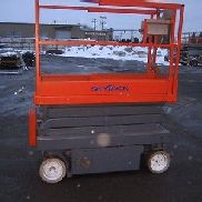 SKYJACK 3219 SCISSOR LIFT 19' DECK HGT,25' WORK HGT , FULLY OPERATIONAL HD