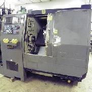 Hardinge Conquest 42 CNC Turning Center, Fanuc Control, Chip Conveyor.
