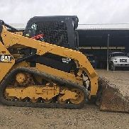 2015 Caterpillar 259D Rubber Track Skid Steer Diesel Loader Two Speed Skidsteer
