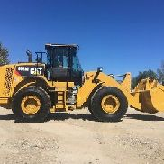 2014 Caterpillar 962M Articulated Wheel Loader Diesel Cab AC Rubber Tire Tractor