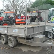 Second Hand 8′ Dale Kane Tipping Trailer