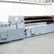KUMLA PV7H 2500mm x 10mm Hydraulic 3 Roll Double Initial Pinch Bending Rolls with Cone Bending Facility
