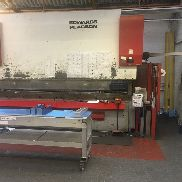 EDWARDS PEARSON PR10 250 ton x 4000mm CNC Press Brake.