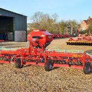 Einbock 6M Folding Grass Harrow C / W Seeder