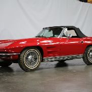 No: 136/1963 Chevrolet - Corvette Stingray