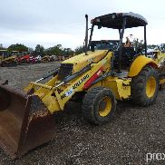 NEW HOLLAND B95 4WD LOADER BACKHOE;