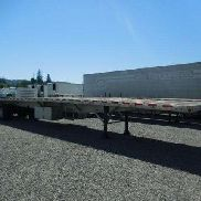 "2007 REITNOUER - Maximiser - All aluminum 102"" Front axle slide flatbed"