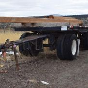 1996 Pierce 21 'Flat Bed with Pintle Hitch