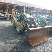 Caterpillar 420D Backhoe Loader