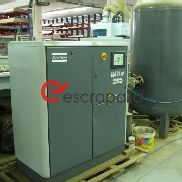 Atlas Copco GA11FF compressor with FICAL 1,500l oil separator and boiler