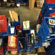 Stock of electromechanical components and spare parts (pneumatic, mechanical and electrical) - 1520 pcs.