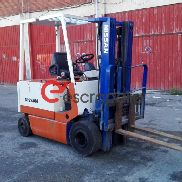 NISSAN electric forklift with loader