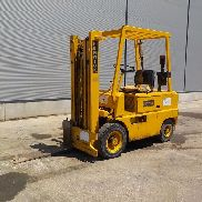 Fenwick FUD25 450M Diesel Powered Forklift c/w 3 Stage Mast - 112