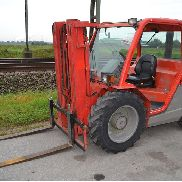 2004 Manitou MH25-4 Rough Terrain Forklift c/w 3 Stage Mast, Forks (Copy of Declaration of Conformity and Manuals Available) - 198786