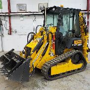 Unused 2016 JCB 1CXTHFEC Tracked Skidsteer Backhoe Loader, Front & Rear QH, Piped c/w Clamshell front bucket, 3 Digging Buckets (4 Hours) - JCB1CXHECG2478835