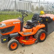 2009 Kubota G23 Twin Cut Diesel Ride on Mower c / w Colector de hierba hidráulica de vuelco (Reg. Docs. Disponibles) - W ************** 1