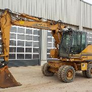 Case 588 Wheeled Excavator, Blade, CV, QH, 3 Piece Boom, Piped - CGG0213866