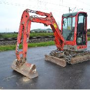 2011 Yanmar VIO33-U Rubber Tracks, Blade, Offset, CV, QH, Piped, Aux. Piping c/w Bucket (Declaration of Conformity and Manuals Available) - YCEVIO33PBF110346