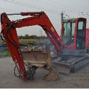 2007 Yanmar VIO55 Rubber Tracks, Blade, Offset, CV, QH, Piped, Aux. Piping c/w 4 Buckets - AYRVIO55C7A202787