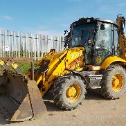 2004 JCB 3CX P21 Turbo Powershift Contractor Backhoe Loader, SRS, QH, Piped - SV54 DXO - SLP3CXTS4E0951759