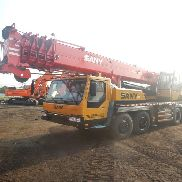 2010 Sany QY50C 50 Ton All Terrain Crane, 42.5m 5 Section Main Boom,16m Swingaway Foldable Jib, 9 Speed Manual Gearbox, Aux Winch, Rooster Sheave, 6 Sheave Hook Block & Ball Hook, 5th Outrigger, Rear View Camera, A/C (12.00R20 Tyres) - 10TC10504265 GCC DUTIES NOT PAID