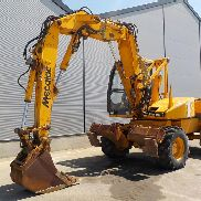 Mecalac 14MXT Articulated Wheeled Excavator, CV, QH, Piped, Stabilisers c/w 3 Piece Offset Boom - 030465