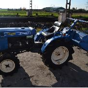 Iseki TX1500F 4WD Compact Tractor c/w Cultivator (NO CE MARK - NOT FOR USE OR TRADE WITHIN EU) - 002926