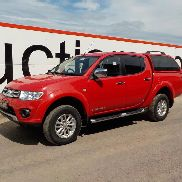 2014 Mitsubishi L200 Trojan Crew Cab Pick Up, A/C c/w Canopy (Reg. Docs. Available, FSH) (PLUS VAT) - TFZ 4735 - MMCJNKB40FD011615