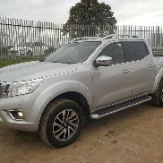 2017 Nissan Navara 4WD Crew Cab Pick Up, 6 Speed, Full Leather, Electric Heated Seats, Sat Nav, Reverse Camera, Parking Sensors, Bluetooth, Cruise Control, Climate Control (Reg. Docs. Available) (PLUS VAT) - E**************************7