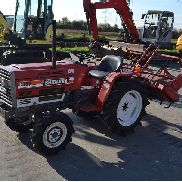 Shibaura SP1540 4WD Compact Tractor c/w Cultivator (NO CE MARK - NOT FOR USE OR TRADE WITHIN EU) (870 Hours) - 20622