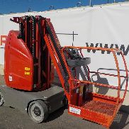 2010 JLG TOUCAN -10 E Wheeled Boom Lift Access Platform (Copy of Declaration of Conf. Available / Copia de CE disponible) (476 Hours) - A300090307
